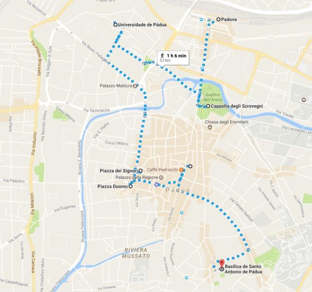 Padova roteiro de 1 dia